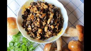 Жульен из кальмаров с сыром, рецепт за 3 минуты, домашняя кухня