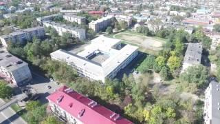 Школа с дрона