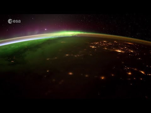 Timelapse over Canada and Northern America