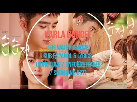 Karla Bonoff - The Water Is Wide - Sub Español & Lyrics (Pure Love / Unforgettable / Soonjung OST)