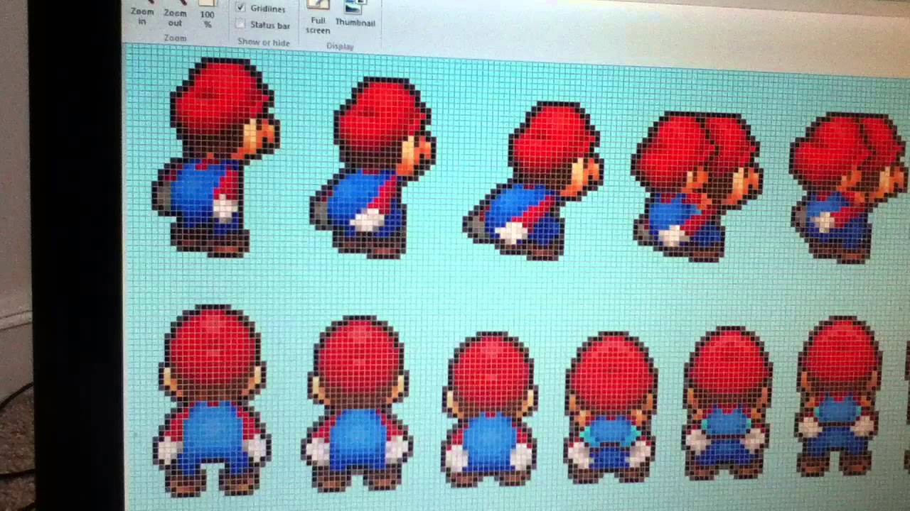 How To Find Patterns For Perler Bead Sprites Youtube