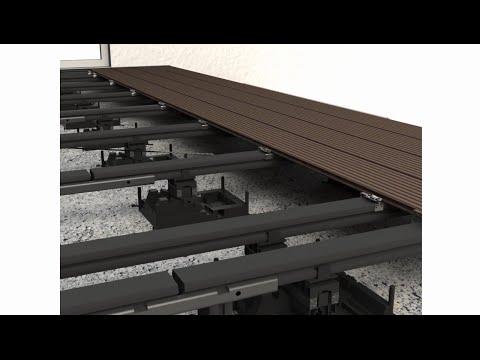 montageanleitung von megawood wpc terrassen doovi. Black Bedroom Furniture Sets. Home Design Ideas