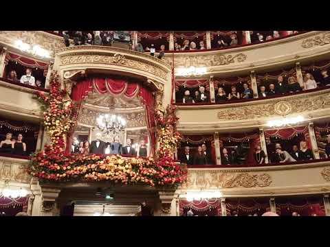 Prima della Scala, l'inno di Mameli