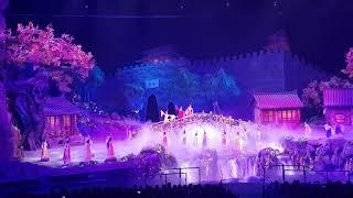 중국 서안여행, 실크로드 공연 [낙타방울의 전설-  비…