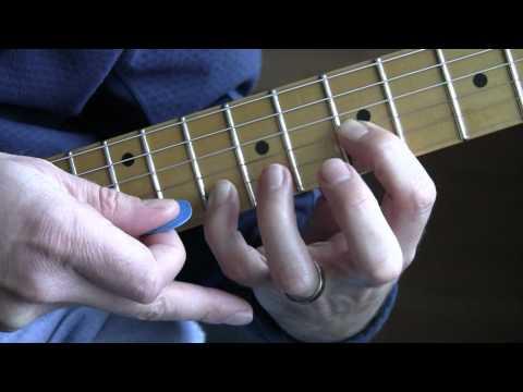 Part A10-b:  Bad (U2 Guitar Tutorial / Lesson) - Main Riff (cont'd)
