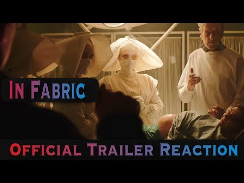 In Fabric | Official Trailer HD Reaction (2019) Horror Movie