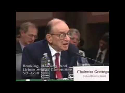 Alan Greenspan on inability of government to stabilize purchasing power