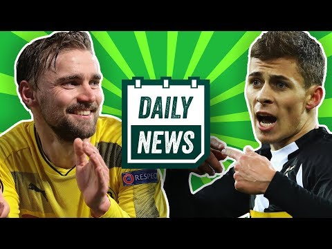 Thorgan Hazard, Toter Polizist nach Europa League Spiel und Torwart von Kuh angegriffen! Daily News