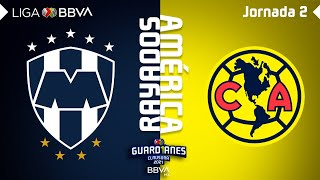 Resumen | Rayados vs América | Liga BBVA MX - Guard1anes 2021 - Jornada 2