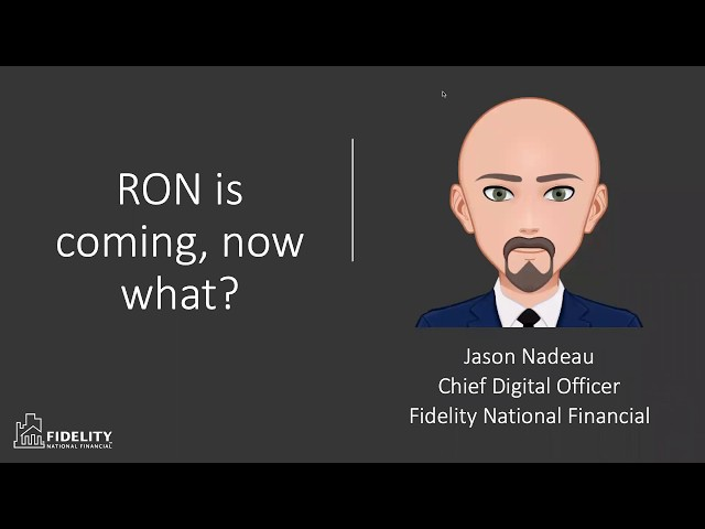 RON is Coming, Now What?