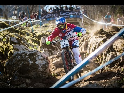 DH - 2015 UCI MTB World Cup presented by Shimano, Lourdes (FR) / Action Clip