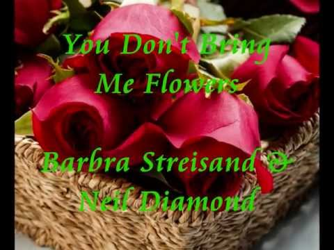 ♥ You don't bring me flower ♥ ~ Barbra...