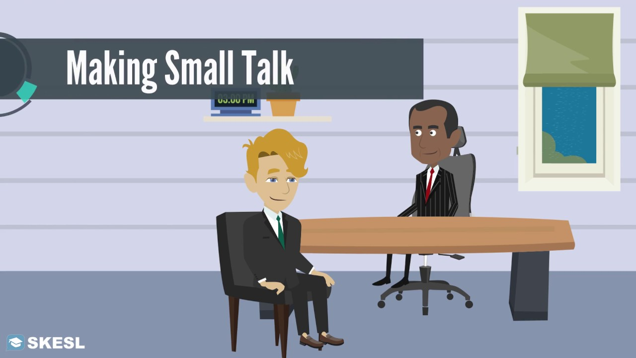 Download Business English Conversation Lesson 49:  Making Small Talk
