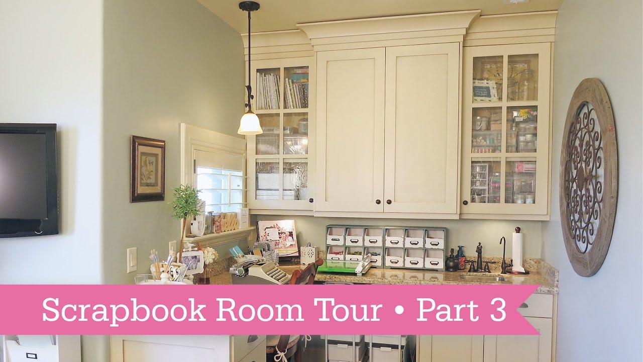 Scrapbookroom Tour