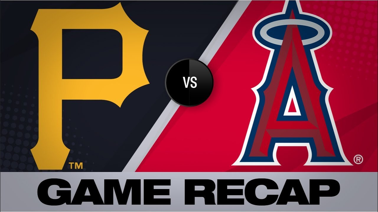 Homers back Keller's 1st Major League win | Pirates-Angels Game Highlights 8/12/19