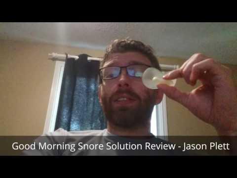 Good Morning Snore Solution Review - Jason Plett