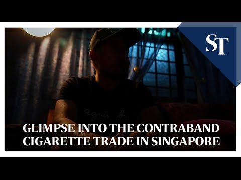 Glimpse into the contraband cigarette trade in Singapore | The Straits Times