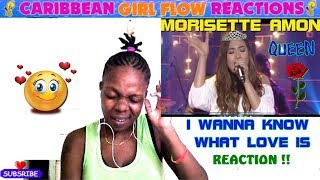 (I WANNA KNOW WHAT LOVE IS) MAGICALLY COVERED BY MORISSETTE AMON[CARIBBEAN GIRL FLOW REACTIONS]