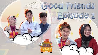 [FULL] GOOD FRIENDS EP. 1 (ft. KNK, WEi, The Boyz, Kim Young Chul)