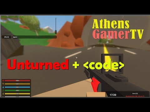 Unturned with Code - AthensGamerTV by Athens Thanakrit