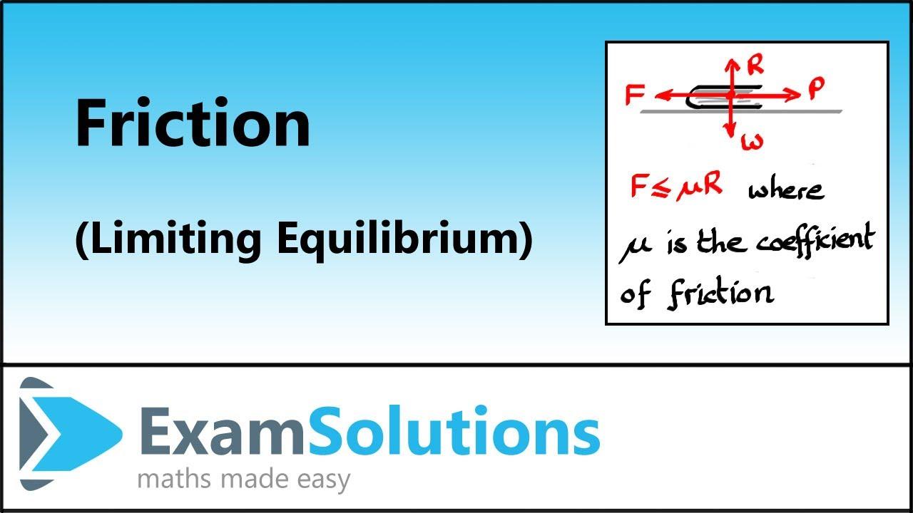 medium resolution of Mechanics: Friction (with worksheets