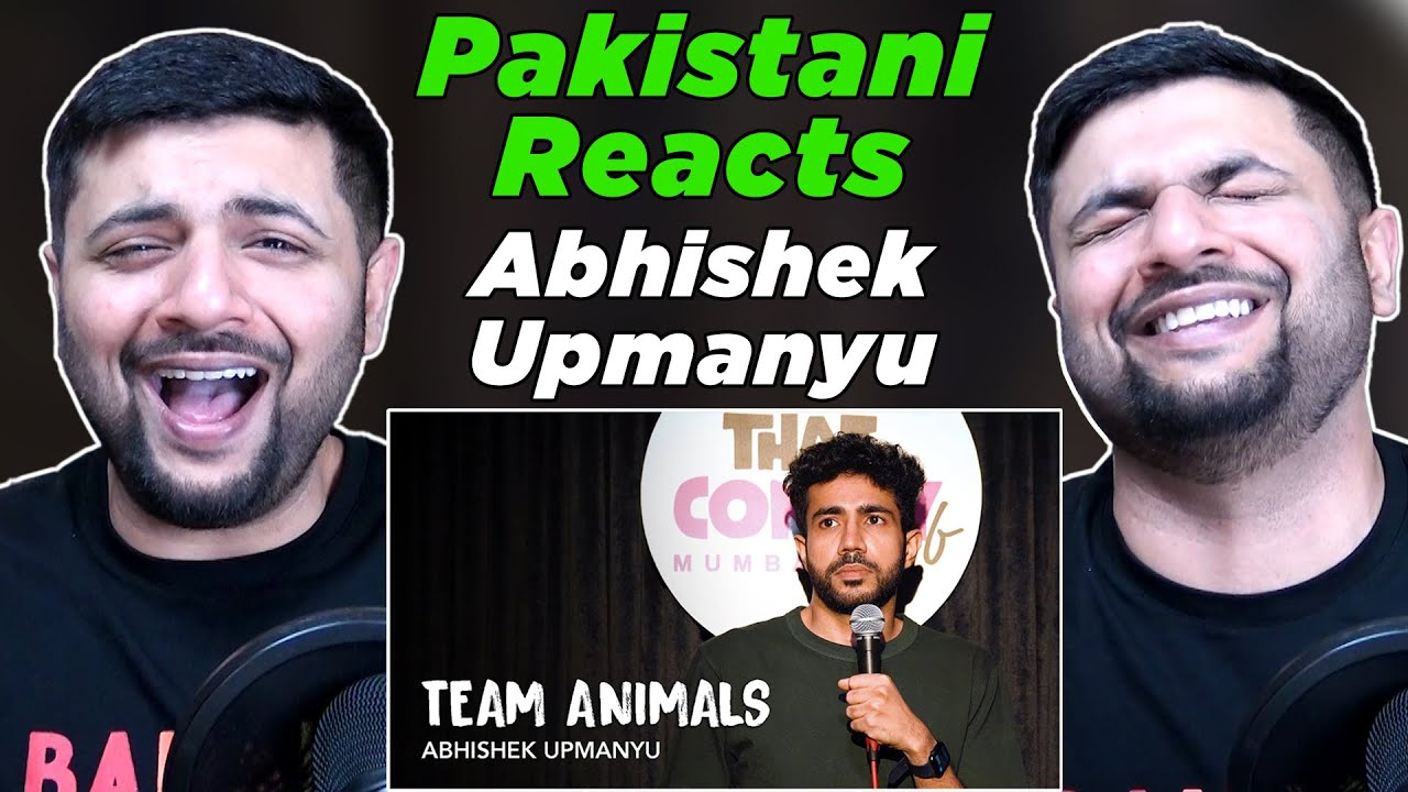 Download Pakistani Reacts to Team Animals - Stand-Up Comedy by Abhishek Upmanyu