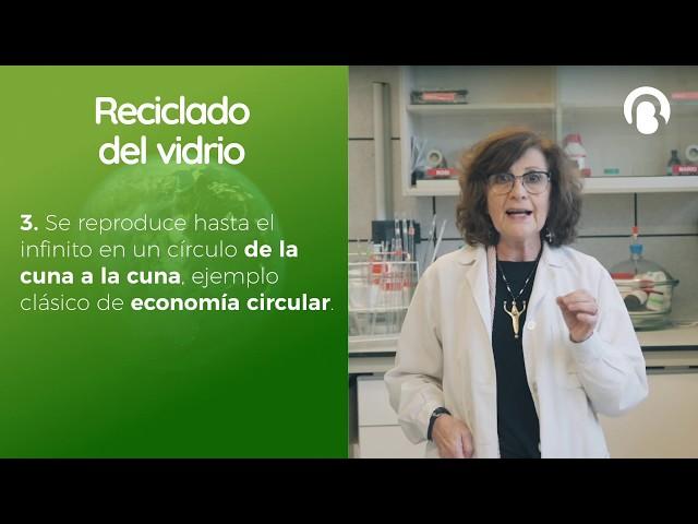Reciclado Vidrio | Alicia Durán | CienciaCreActiva | Bio3