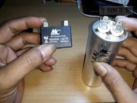 Fungsi Kapasitor Ac Air Conditioner