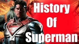History Of Superman Part 4 Injustice 2