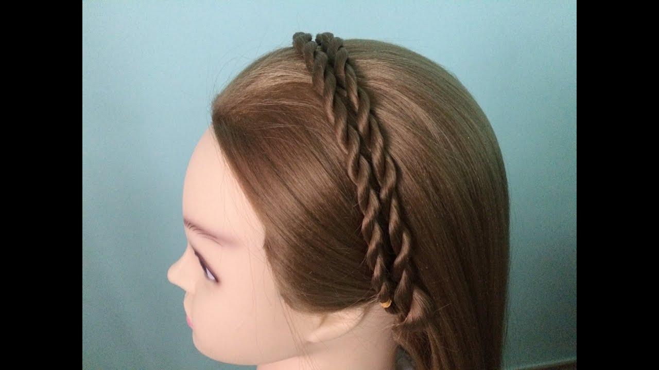 AnaTran – Cách xoắn tóc hai bên thành cài tóc