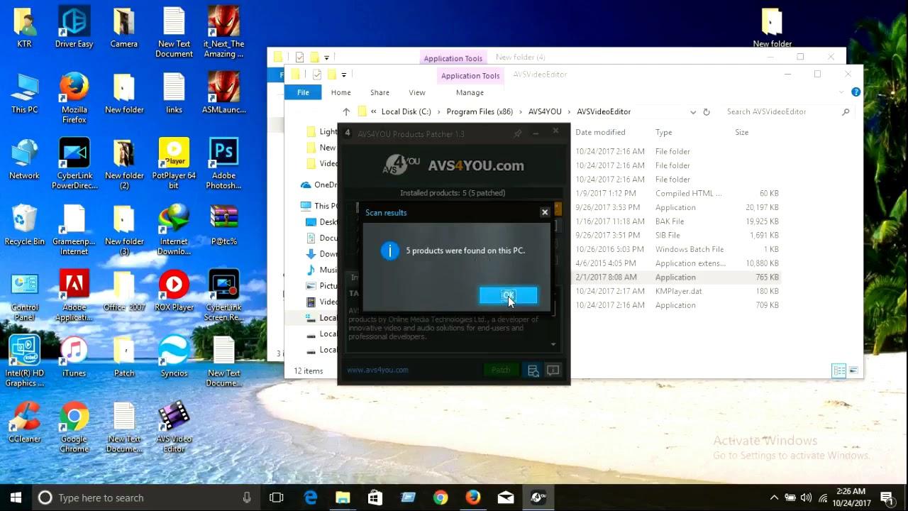 free avs video editor 8.0.3.303 full serial key