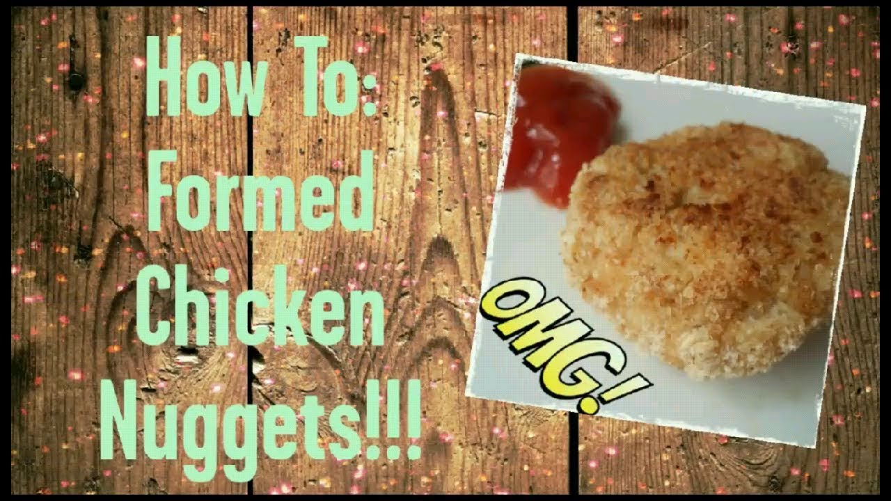 EASY Homemade Ground Chicken Nuggets