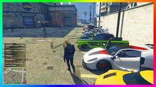 MrBossFTW's Car Show Meet Gets DESTROYED By Orbital Cannon Strike In GTA Online!