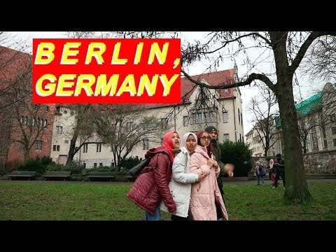 GERMANY JAN 2018 #2 : Exploring Berlin and How we survive