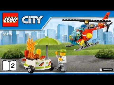 Пожарная машина Лего Сити 60107. Начало сборки. Часть 1 - YouTube