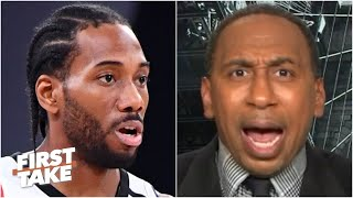 Stephen A. to the Clippers: You better NOT lose this damn series! | First Take