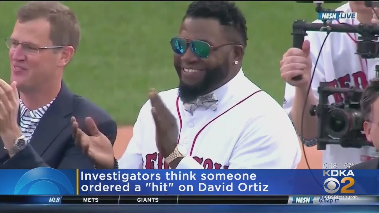 Investigators Believe A Hit Was Ordered On David Ortiz