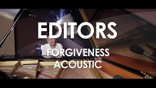 Editors - Forgiveness - Acoustic [Live in Paris]