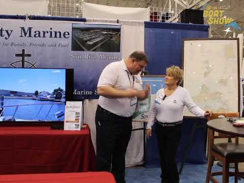 Son Rise Marina at the 2018 Mid-America Boat Show