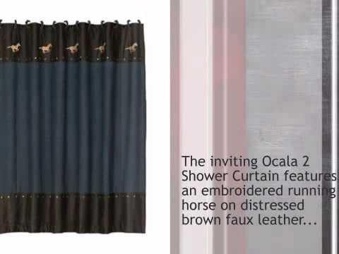 Ocala 2 Shower Curtain - lonestarwesterndecor.com