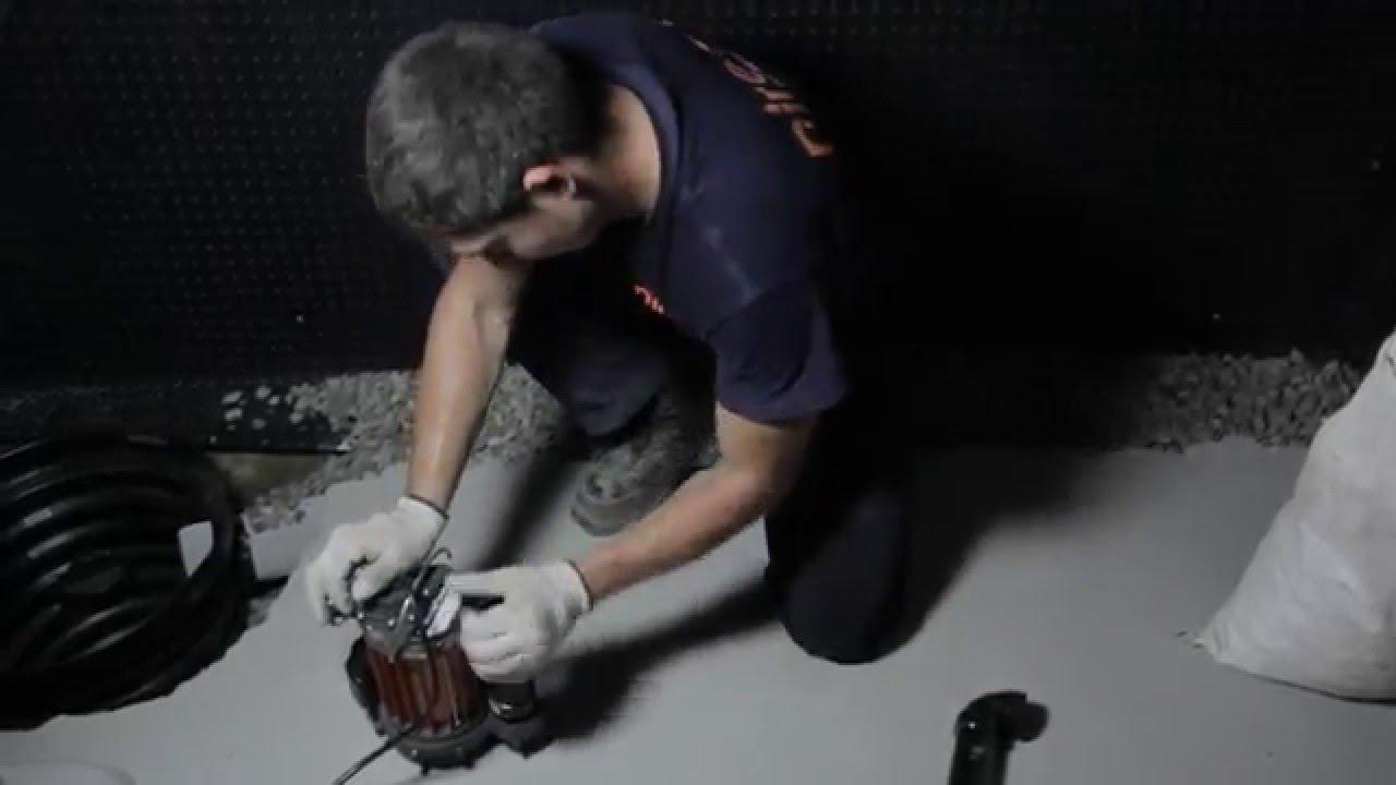 Sump Pump Installation Instructions - Direct Waterproofing