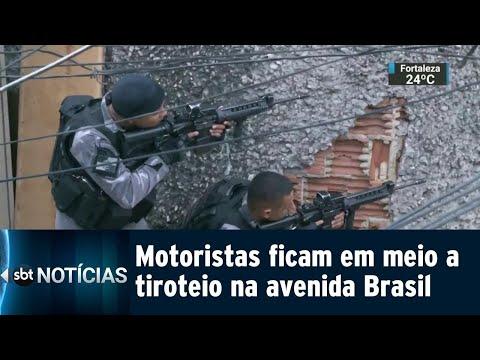 Motorista morre baleado em via importante do Rio de Janeiro | SBT Notícias (03/08/18)