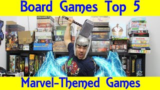 The Best Marvel Board And Card Games Around