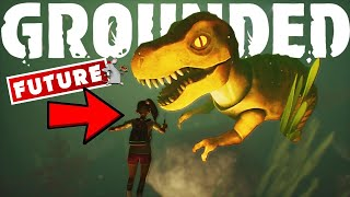 GROUNDED Water Update Reveal! Underwater Lab! Bell Spiders, Tadpoles, Leeches, Striders, Secrets!
