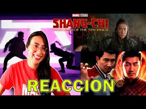 ????????????REACCIÓN tráiler SHANG-CHI Y LA LEYENDA DE LOS DIEZ ANILLOS  película artes marciales de Marvel