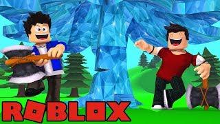 ROBLOX-DIAMOND TREES! (Lumber Simulator 2)