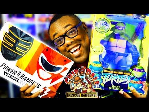 Comic-Con SHOPPING HAUL! Ninja Turtles! Power Rangers! Rescue Rangers?? (SDCC 2019)