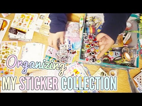 My Entire Sticker Collection ❖ Organize With Me