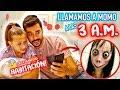 😱LLAMAMOS a MOMO a las 3 AM !! 😰El número M₳LDITO de WhatsApp | DADn'KIDS
