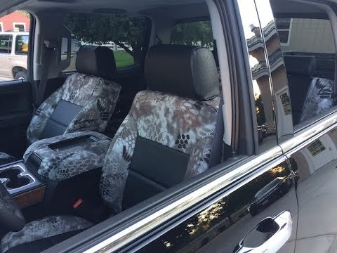 Superhides Seat Covers >> Kryptek Raid And Black Ostrich Seat Covers